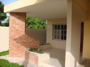 casa con aria verde proyecto cerrado en rd