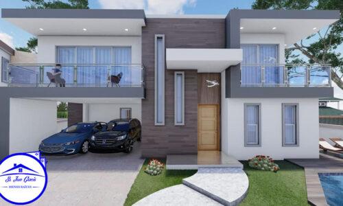 Casas con Piscinas en Zona Residencial