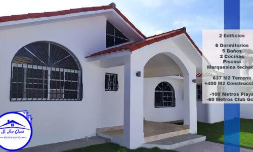VENDO Villa en Residencial de PUERTO PLATA