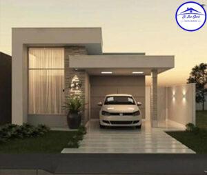 Proyecto de Dos casas Minimalistas de un Nivel