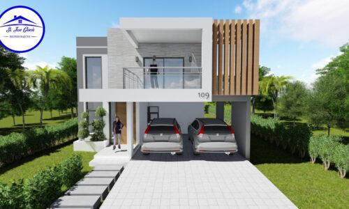 En venta Villa estilo moderno y Minimalista Puerto Plata